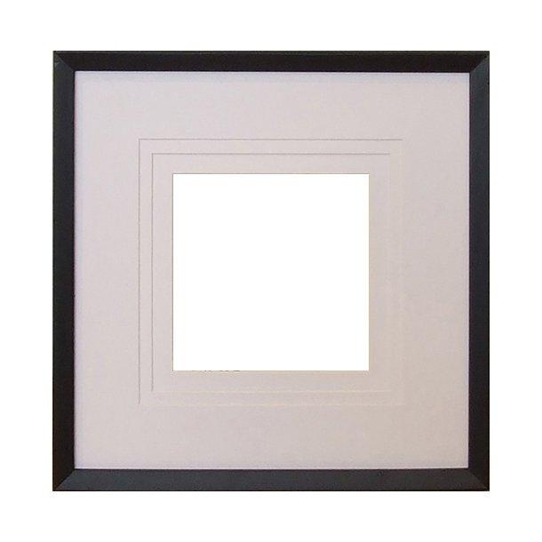 BLID svart 30x30 cm 20x20/18x18/15x15
