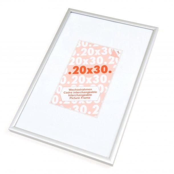 Nitra sølv aluminium 20x30